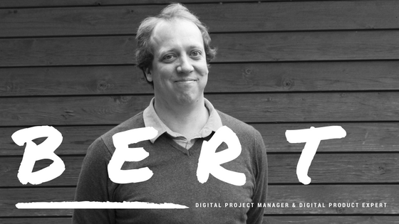 Interview met Bert Van den Broeck; Digital Project Manager & Digital Product Expert